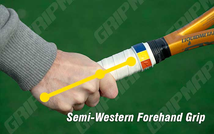 how to hit a semi western forehand